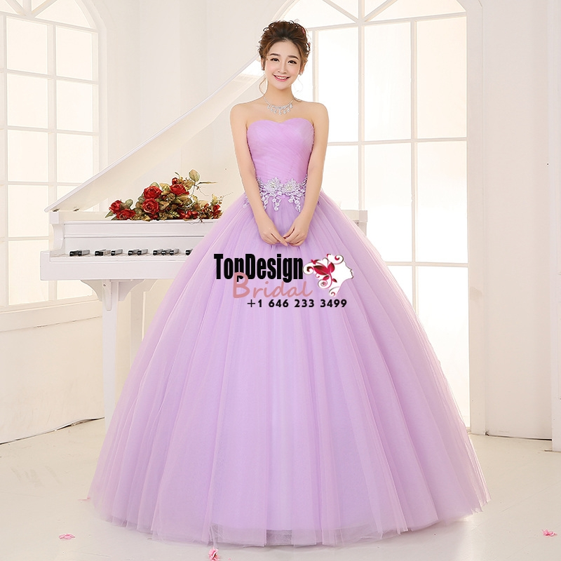 Wholesale Vestidos De Fiesta New Lilac 2017 Sweet 15 Dress Satin Organza Quinceanera Ball Gown