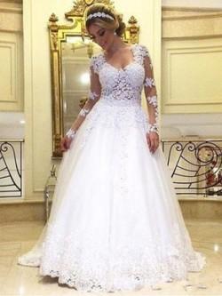 A-line Wedding Dresses, Elegant Wedding Dresses – DressesofGirl.com