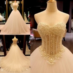 Ball Gown Wedding Dresses, Ball Gown Bridal Dresses – DressesofGirl.com