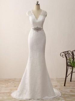 Mermaid Wedding Dresses, Glamorous Wedding Dresses – DressesofGirl.com