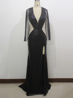 Black Ball Dresses online, Sexy Black Ball Gown – Pickedlooks