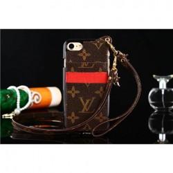 モノグラムルイヴィトンLV iphone8 カバー 質が高くの ストラップ付きのブランド アイフォン8/X/7/6S/7 ...