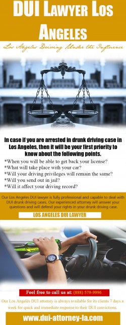 DUI Lawyer Los Angeles