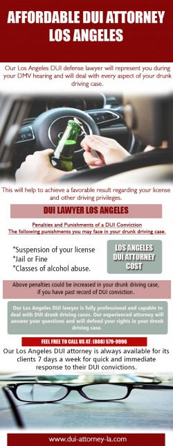 Affordable DUI Attorney Los Angeles