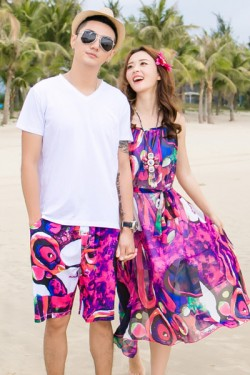 2017 new arrival couple best Beach fashion
