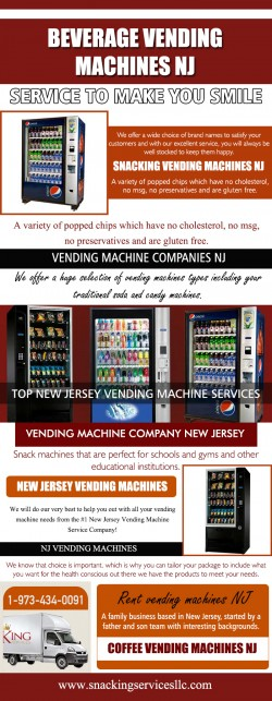 vending machine company NJ