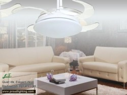 East Fan 42inch invisible Ceiling Fan with light item EF42236 | Ceiling Fan