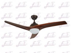 East Fan 52 inch Three Blade outdoor Ceiling Fan with light item EF52128 | Ceiling Fan