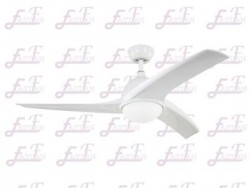East Fan 52 inch white ceiling Fan with light item EF52128A | Ceiling Fan