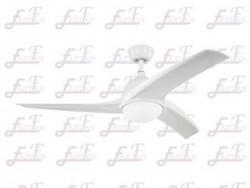 East Fan 52 inch white ceiling Fan with light item EF52128A | Ceiling Fan