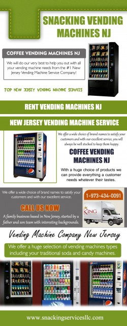 New Jersey vending services