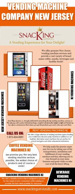 New Jersey vending machine service