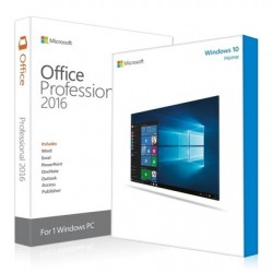 Windows 10 Home + Office 2016 Professional Product Key