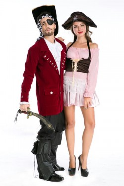 Tokyo Disney · Pirates Cosplay Costume Halloween Male Costume Pirate Costume