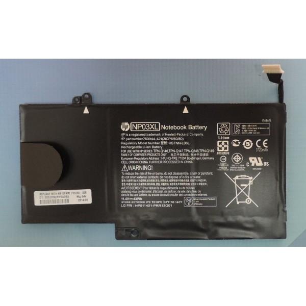 Batería HP TPN-Q146|Nueva Batería para Portátil HP TPN-Q146