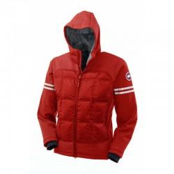 Canada Goose Men's Hybridge Hoody In Red