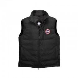 Canada Goose Men's Lodge Down Vest In Black