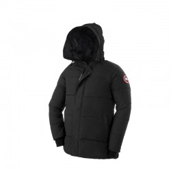 Canada Goose Men's Macmillan Parka In Black