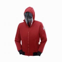 Canada Goose Men's Tremblant Full Zip Hoody In Red