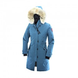 Canada Goose Women's Kensington Parka In Sky Blue