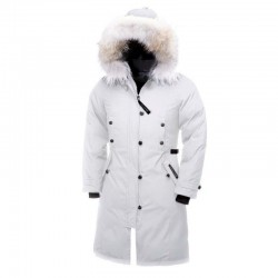 Canada Goose Women's Kensington Parka In White