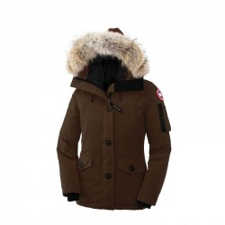 Canada Goose Women's Montebello Parka In Coffee