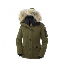 Canada Goose Women's Montebello Parka In Military Green