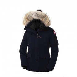 Canada Goose Women's Montebello Parka In Navy Blue