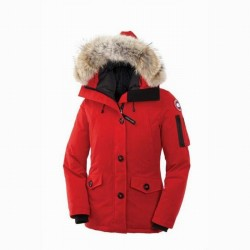 Canada Goose Women's Montebello Parka In Red