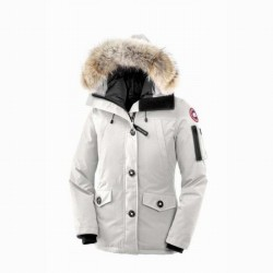 Canada Goose Women's Montebello Parka In White