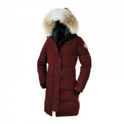 Canada Goose Women's Shelburne Parka In Burgundy