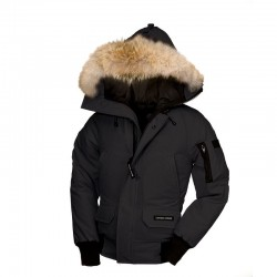 Canada Goose Youth's Chilliwack Bomber In Black