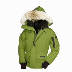 Canada Goose Youth's Chilliwack Bomber In Green