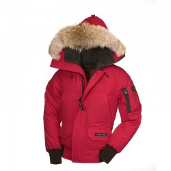 Canada Goose Youth's Chilliwack Bomber In Pink