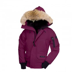 Canada Goose Youth's Chilliwack Bomber In Purple
