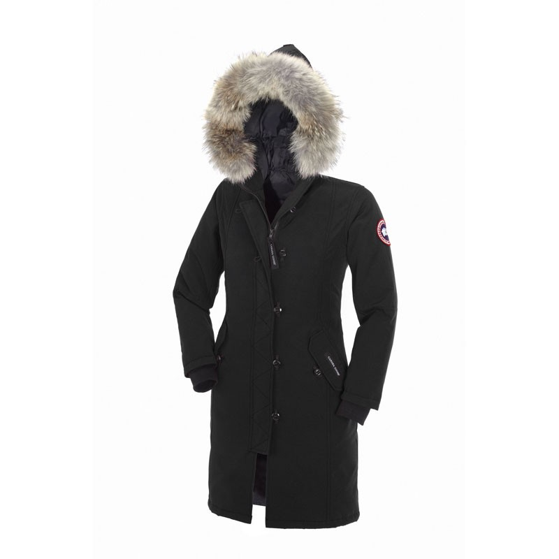 Canada Goose Youth's Kensington Parka In Black