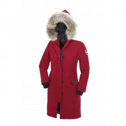 Canada Goose Youth's Kensington Parka In Red