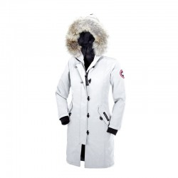 Canada Goose Youth's Kensington Parka In White