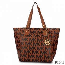Cheap Michael Kors Jet Set Traveller Logo Tote Brown