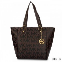 Cheap Michael Kors Jet Set Traveller Logo Tote Coffee
