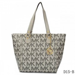 Cheap Michael Kors Jet Set Traveller Logo Tote Grey