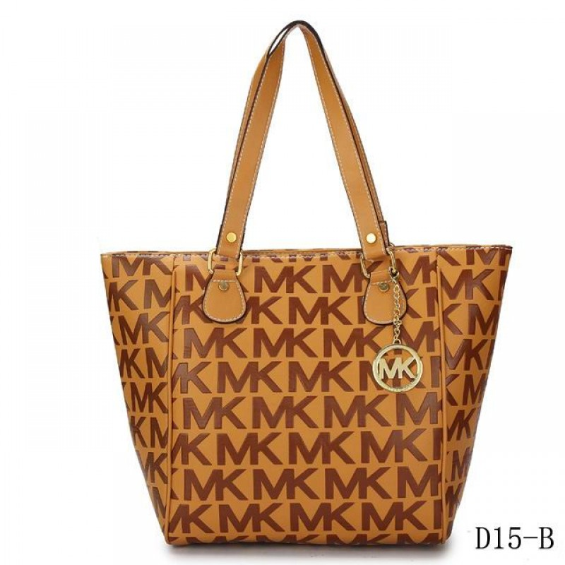 Cheap Michael Kors Jet Set Traveller Logo Tote Khaki