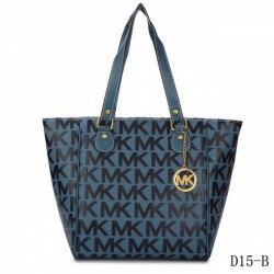 Cheap Michael Kors Jet Set Traveller Logo Tote Navy Blue