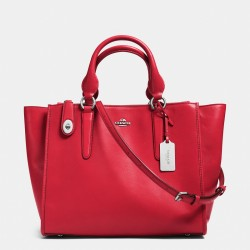 Coach Crosby Carryall in Leather Red