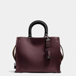 Coach 1941 Rogue Bag In Glovetanned Pebble Leather Burgundy