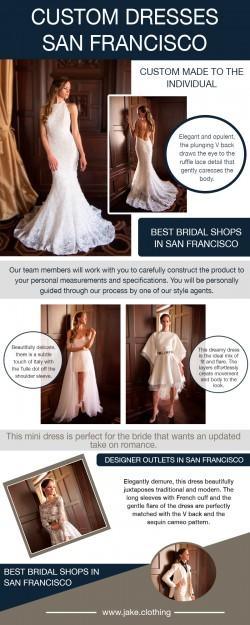 Wedding dress maker San Francisco