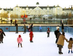 Portable ice rink Indiana