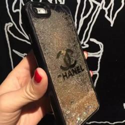 iphone8/7s/6s ケース 女子流れ砂キラキラChanelブランド7Plus/7アイフォン6s Plusシャネル携帯カバー ...