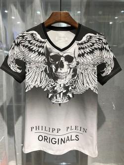 Philipp Plein SS2017 Mens T-Shirt Jet Skull Black