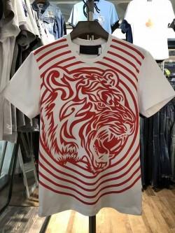 Philipp Plein SS2017 Mens T-Shirt Tribal Plein White